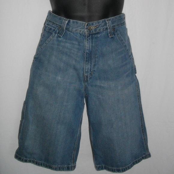 22e7f14a20 Levi's Shorts | Levis Men Boy Blue Jeans Cargo 16r W28 | Poshmark